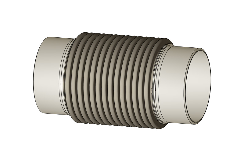 Metal bellows expansion joints - Metal expansion bellows