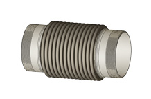 ASET - Axial expansion joint with external thread nipples