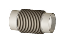 ASIT - Axial expansion joint with internal thread nipples