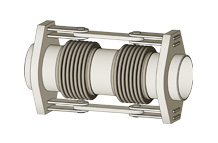 HDP - Double hinged expansion joint with pipe ends