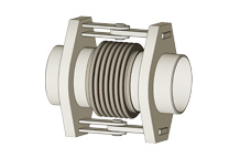 HSP - Hinged expansion joint with pipe ends