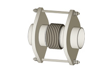 STP - Tied single expansion joint with pipe ends